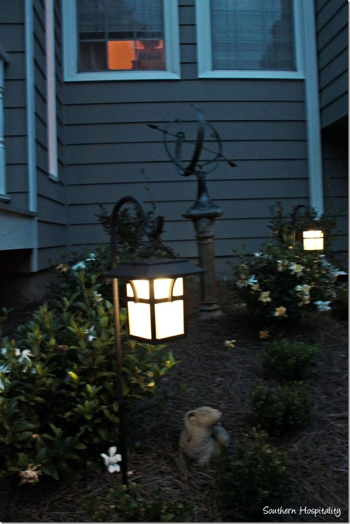Sprucing Up The Front Yard With Solar Lanterns Quot Diy Home