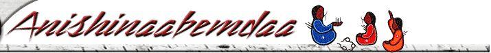 Anishinaabemdaa - Anishinaabe language website