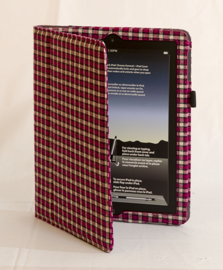 PREPPY: Red plaid iPad2 case from Logiix, $34.99 at LondonDrugs.com. Enter to win a $ 500 shopping spree with @TheProvince and Brentwood Town Centre: http://theprov.in/pinandwin #backtoschool  Adding style to the standard iPad is what this case does. Love it!