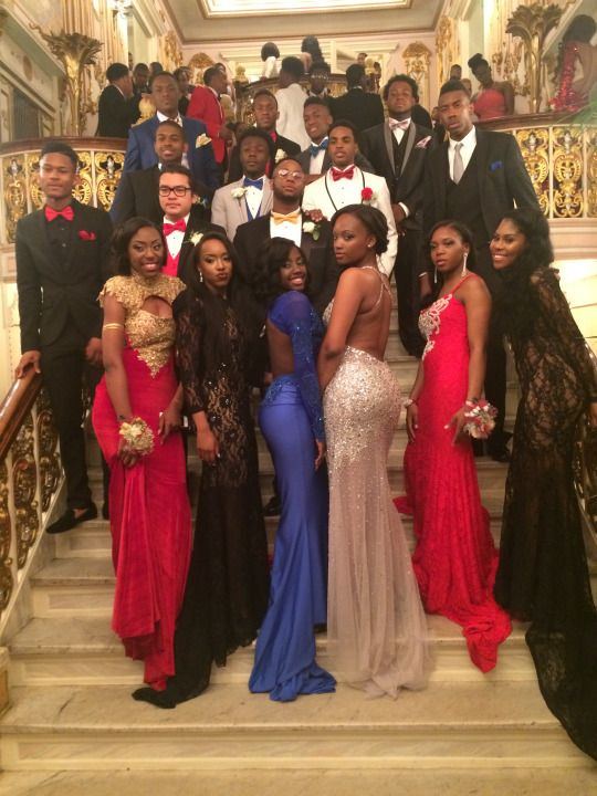 Black Fashion Prom Time Season Pinterest Prom Prom Outfits
