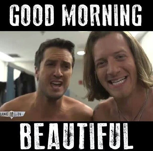Luke Bryan + Tyler Hubbard yummmm! If I would see this in the morning I'd probably pass out lmao