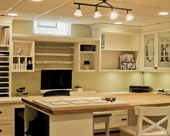 Craft Room Design, Pictures, Remodel, Decor And Ideas   Page 22 · Home  OfficesCraft ...