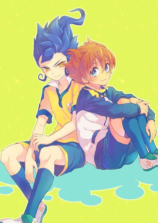Arion y Victor Blade Inazuma Eleven Go