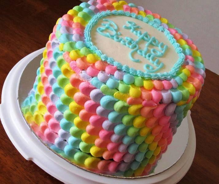 Trolls Birthday Cake With Greek On