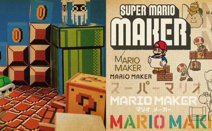 The Super Mario Maker Booklet Is Now Available Online