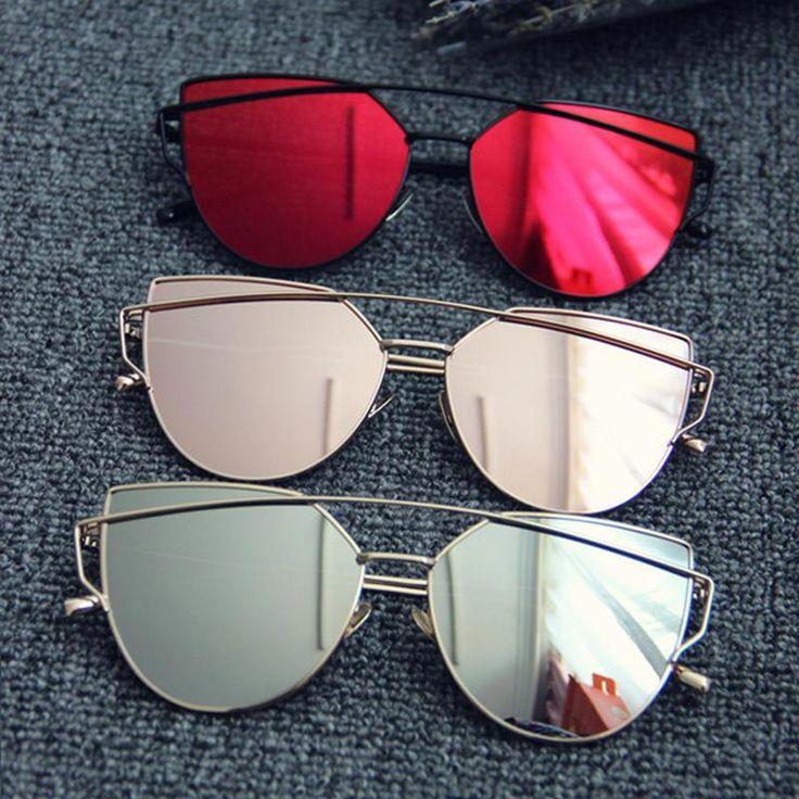 Classic Fashion Women Cat Eye Sunglasses  #Sunglasses #Sonnenbrille