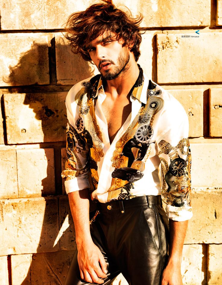 Marlon Teixeira for Harper's Bazaar China by Giovanni Squatriti