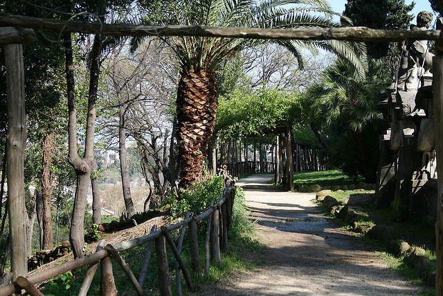 Gianicolo:  Oziare a Villa Sciarra   Ai tempi della antica Roma in questa zona…