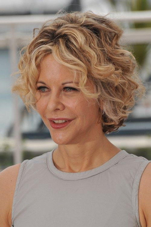 I've always loved Meg Ryan's short curly hairstyle!