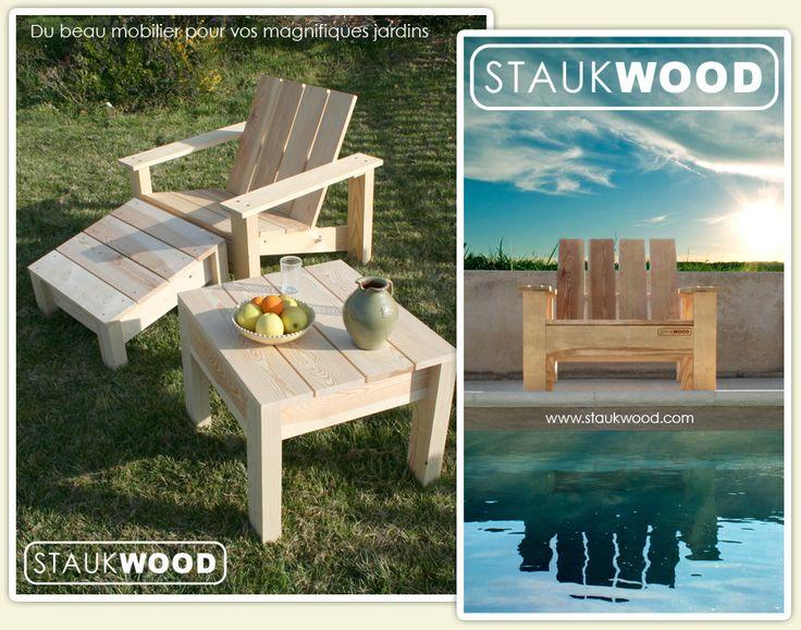 Staukwood fauteuil clube 2 meubles de jardin pinterest - Housse de coussin 65 65 ...