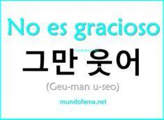 Learn Korean | No es gracioso: Isn't funny