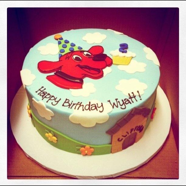 Clifford Birthday Cake | Clifford Birthday Cake | Flickr - Photo Sharing!