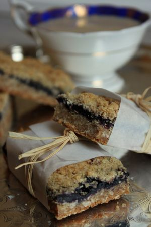 Oatmeal Blueberry bars1