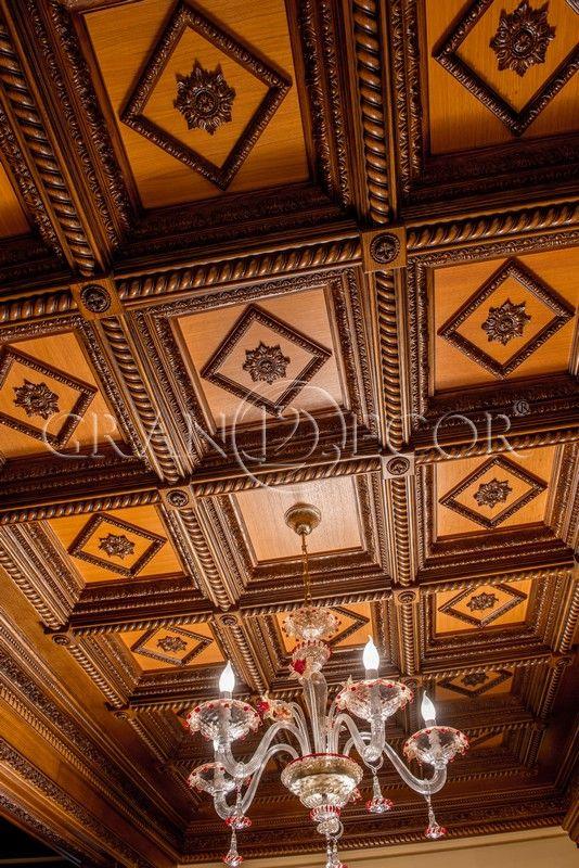 Деревянный потолок Билибин | grandecor.ru