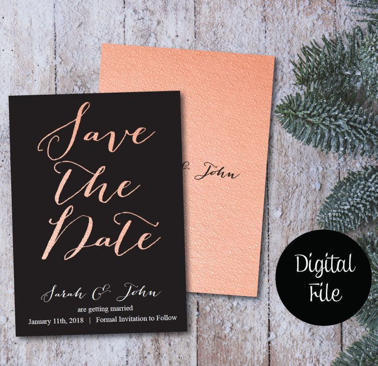 200 best Save the Date Announcement images on Pinterest ...