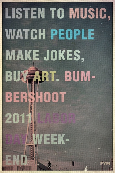 The festival nearest and dearest to my heart- Bumbershoot: Seattle's Music & Arts Festival