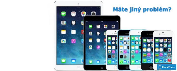 iPhonePro.cz opravuje telefony Apple iPhone a tablety Apple iPad