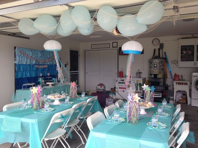 ideas mermaid baby showers baby shower decorations baby shower ideas