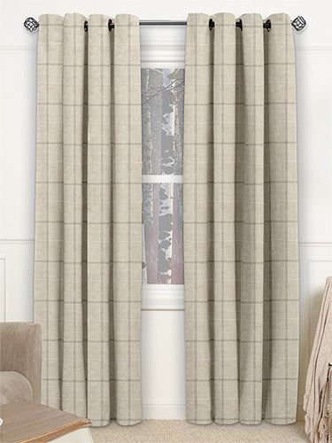 Amberleigh Biscuit Curtains from Curtains 2go
