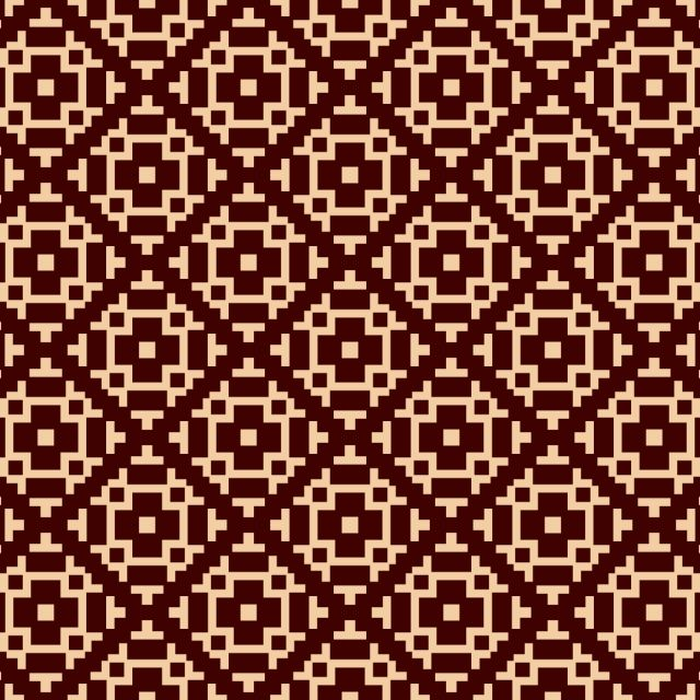 Vector Seamless Pattern Modern Stylish Texture Repeating Linear