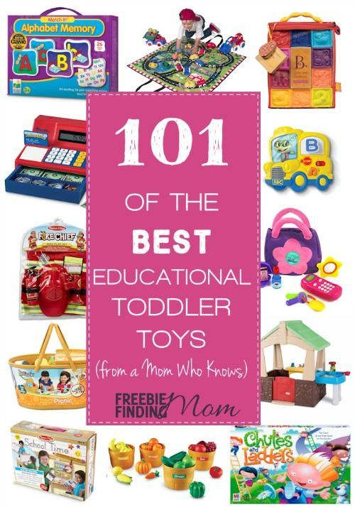 As a mom who has spent countless hours researching the very best educational toddlers toys for my son, I am happy to share with you the fruits of my labor, that's right, a list of the 101 best educational toddlers toys I have come across. You'll find a wide variety of fun yet educational toys from brands like Melissa & Doug, LeapFrog, Crayola, LEGO and more along with engaging books for your little learners.