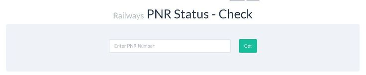 A quick, easy and mobile-friendly tool to check your PNR status for Indian Railways tickets booked at the counter or online. It remembers your old PNR's, so no need to type in again. http://check-pnr-status.in/