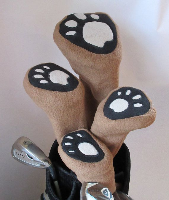 Golf Club Head Covers Sewing Pattern Classic by GulfstreamCottage
