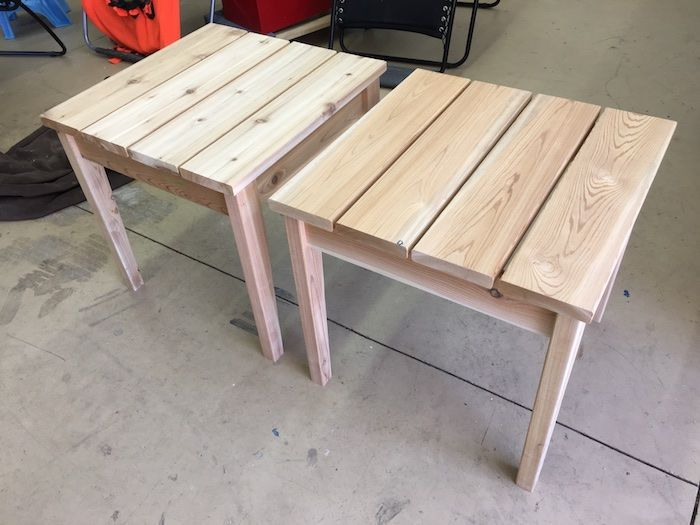 7 Outstanding Small Side Table Ideas Liven Up Your Corner Recently Wooden Table Diy Diy Outdoor Table Small Outdoor Table