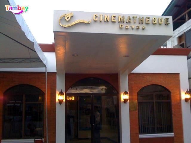 """Watch PINOY movies on big screens for free! - """"Cinematheque Davao"""""""