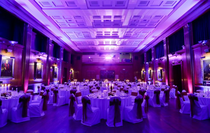 Edward Lumley Hall is ready for the guests to arrive...