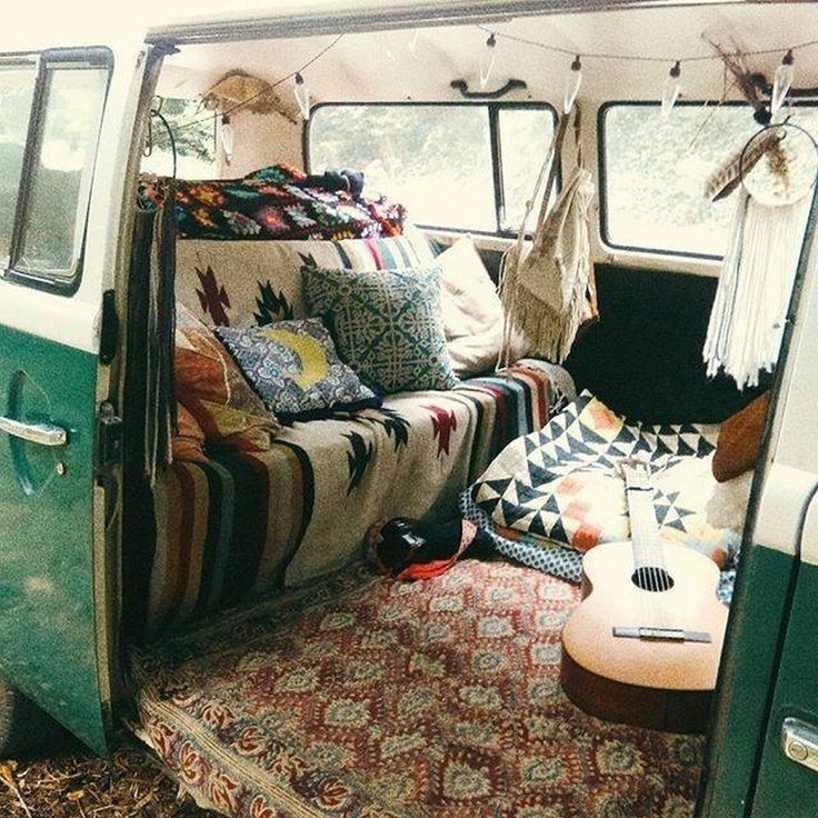 18 Brilliant Ideas Hippie Van Interior Design – Vanchitecture
