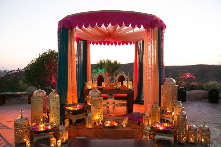 Decoração marroquina para festas!
