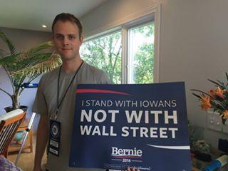 'Berner consultant/Iowa caucus delegate David Nott'