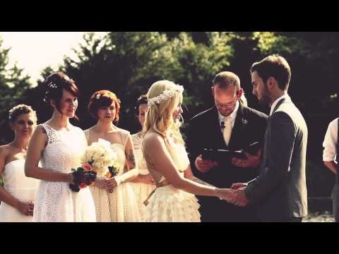 Excellent wedding video! (also love the simple ceremony spot)
