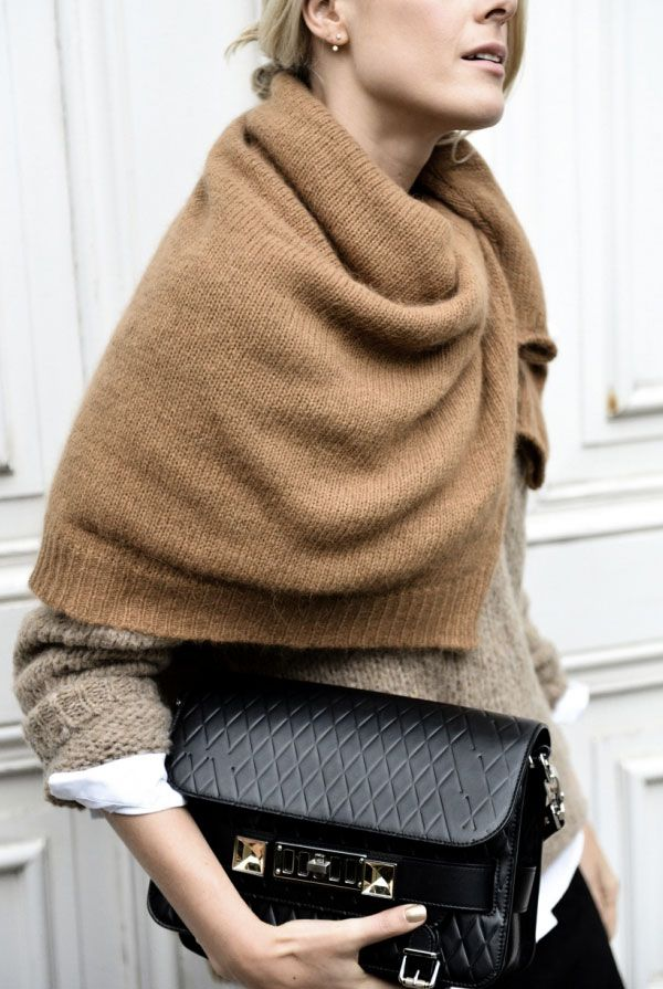 Try This Super Unique Way to Shield Youself from the Cold! | Apartment34 | Fashion + Style
