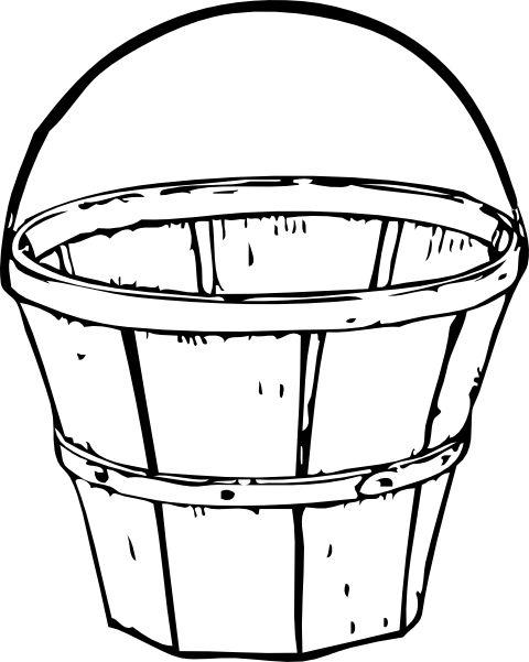 free bushel basket coloring pages - photo#6