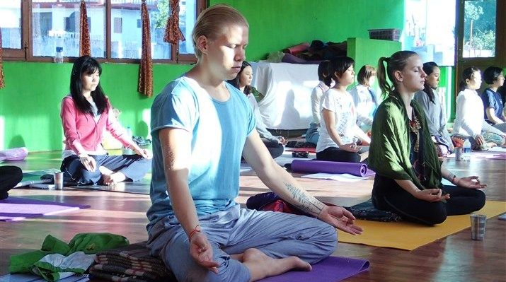 Meditation Class in Morning time in Rishikesh