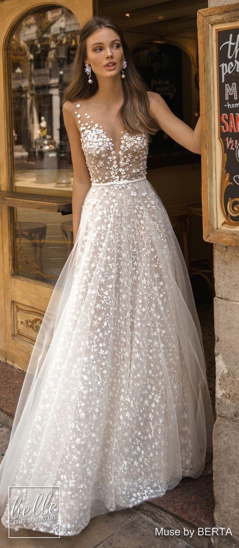 New Romantic Bridal DressesRomantic Bridal Attire #bridaldresses