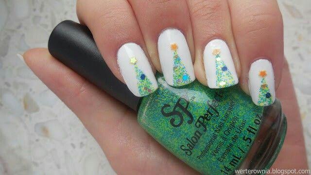 #Werterownia #choinka #christmastree #paznokcie #nails