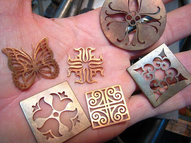 Sawing projects by Steven Brownlee, Jewelry Creations Workshop, via Flickr