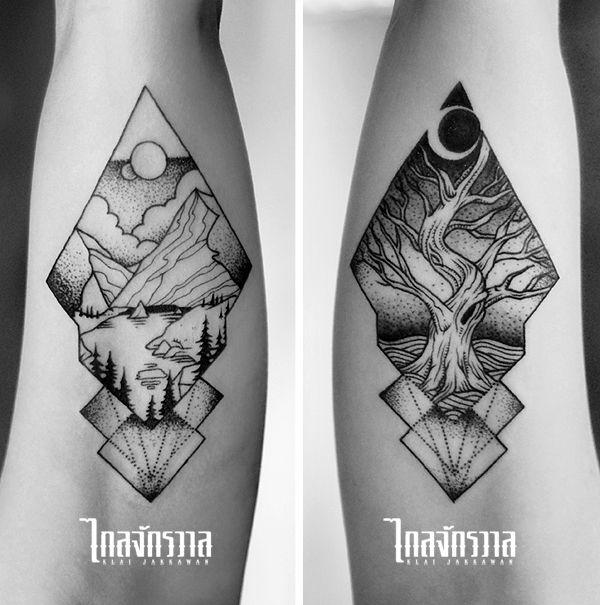 Klai Jakkawan Tattoo Studio / Design by Wanpracha / Tattoo by Armata…
