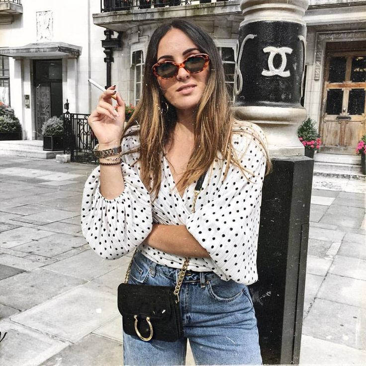 anaelle.cdt on Instagram  #polka #dots #spotted #top #topshop #trend #summer