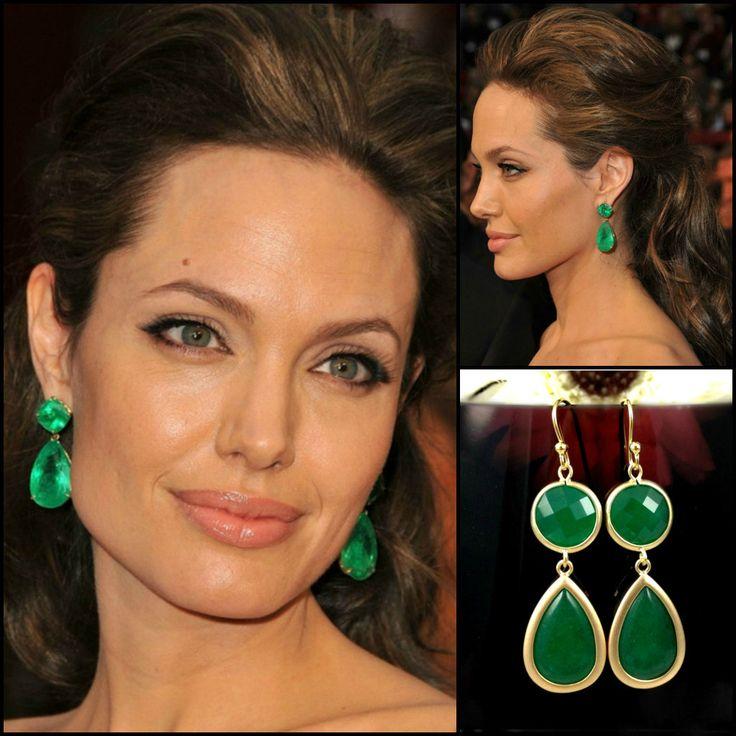 Emerald Green Earrings Angelina - 74.2KB