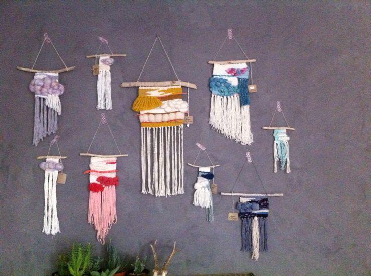 Wall of my own weavings