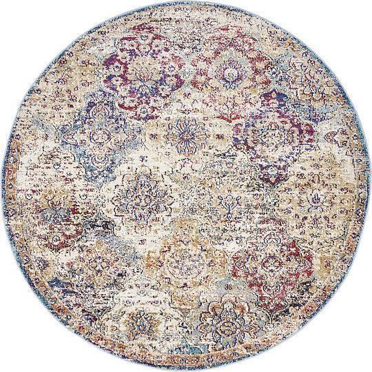 beige 5u0027 x 5u0027 lexington round rug area rugs esalerugs