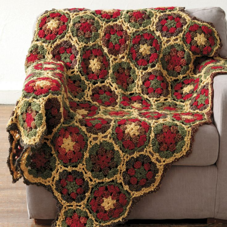 Japanese Flower Crochet Afghan Pattern : 17 Best images about granny squares on Pinterest Free ...