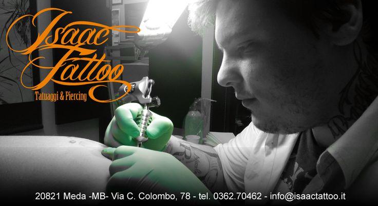 Isaac Tattoo fa parte di Tablad! http://www.facebook.com/pages/Guido-Borgonovo-Tablad/170810149733250 www.guidoborgonovo.it
