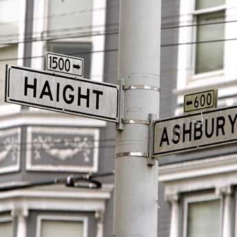 San Fran.  There's no bohemian VIBE to Haight Ashbury.  It's straight up, Bohemian.  You can find some seriously good smoothie and vegan lunch counters in this area.