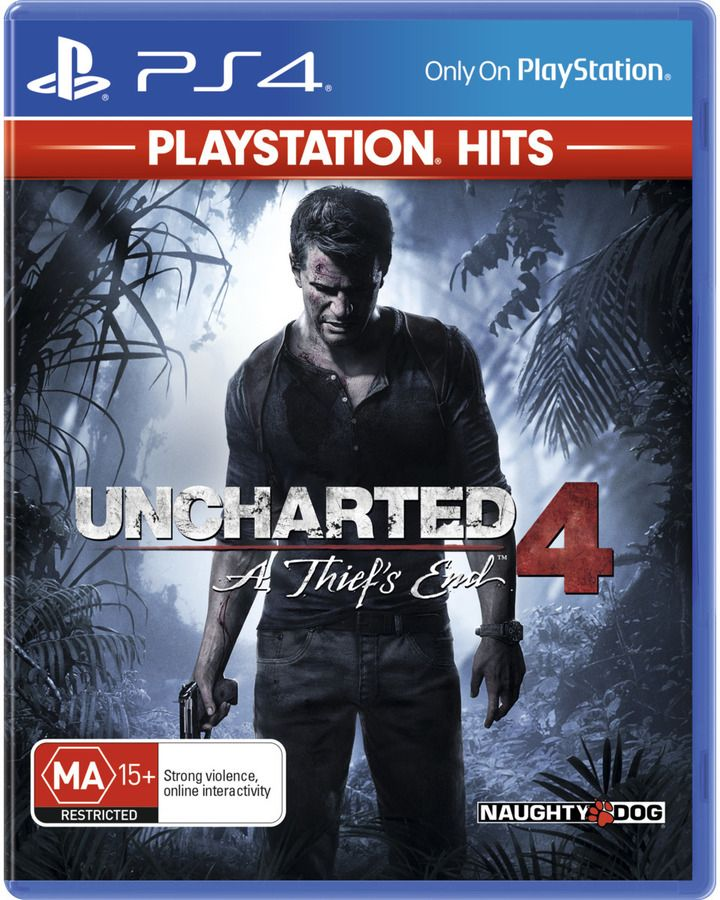 Ps4 Uncharted 4 A Thief S End The Last Of Us Remastered
