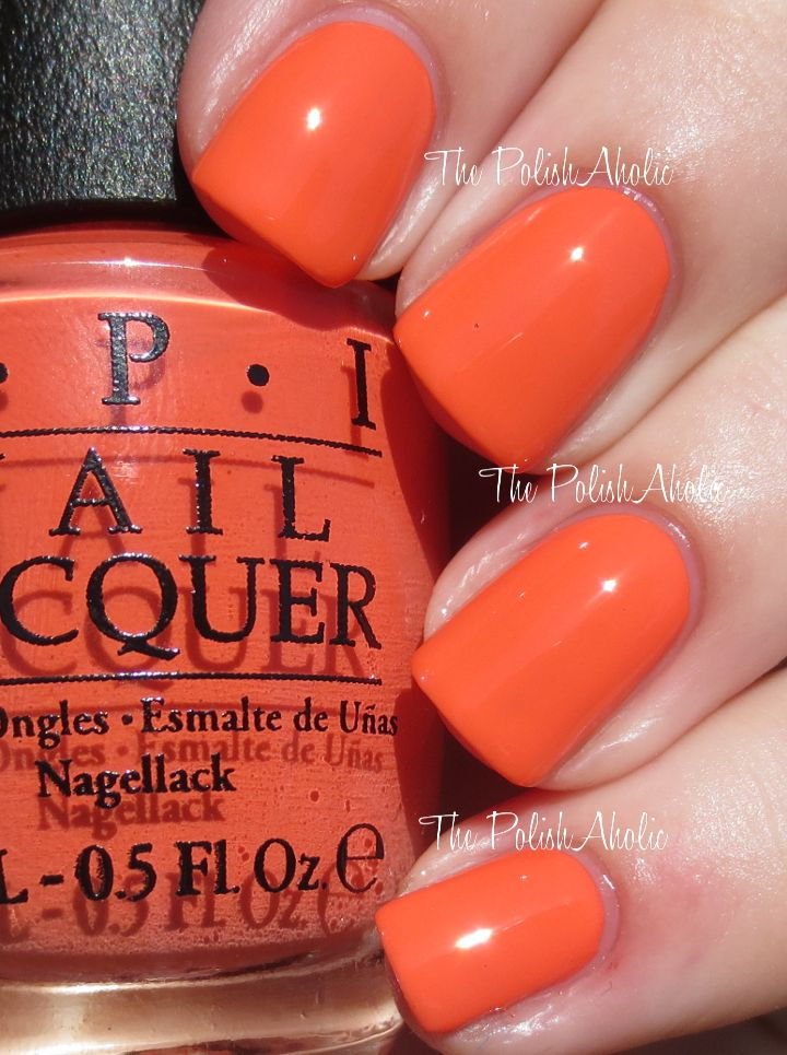 99 best 99 Shades of Orange Nail Polish images on Pinterest | Orange ...